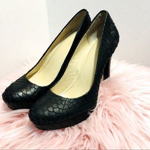 Calvin Cline BlackHeels (fit size 9) say 10 M